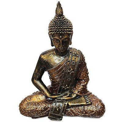 Estátua Buda Tailandês Meditando - Bali