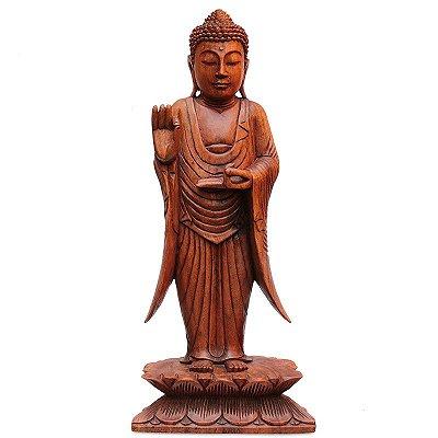 Escultura Buda Vitarka Bali 40cm