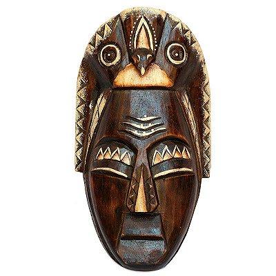"Máscara Decorativa ""Nyoman"" Tribal"