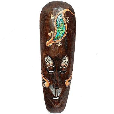 Máscara Decorativa Gecko Mosaico 50cm