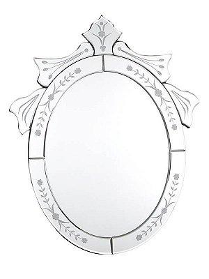 Espelho Veneziano Oval 50x40cm