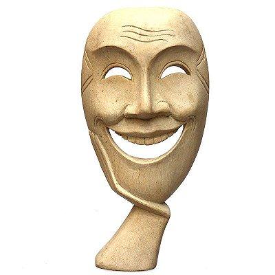 """Máscara Teatro Grego """"O Sorridente"""""""