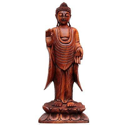 Buda Mudra Abhaya Em Pé 60cm