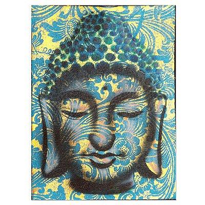 Pintura em Tela Buda Blue 40x30cm