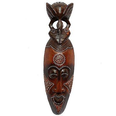 Máscara Artesanal Pássaro Bali 50cm