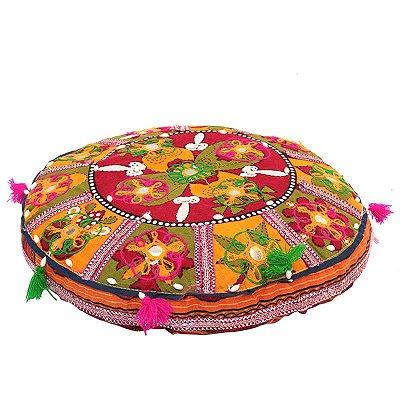 Almofada Puff Indiano p/ Meditação