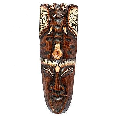 Máscara Elefante Tribal De Bali