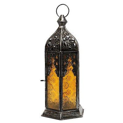 Lanterna Indiana Amarela 29cm