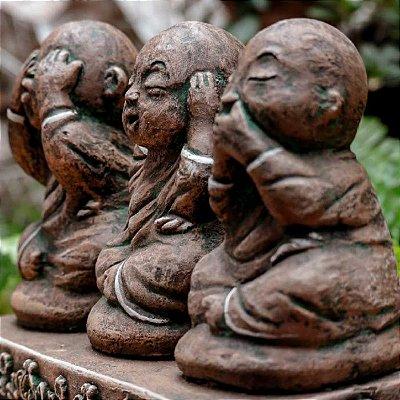 Monges Buda da Sabedoria em Pedra