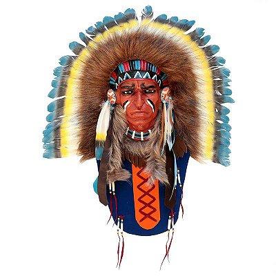 Máscara Xamanismo Bali - Índio Sioux