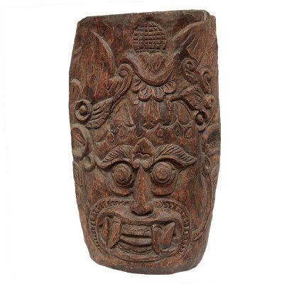 Máscara Entalhada Rara Bali 44cm