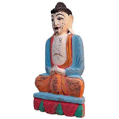 Estátua Buda Bali Color 50cm