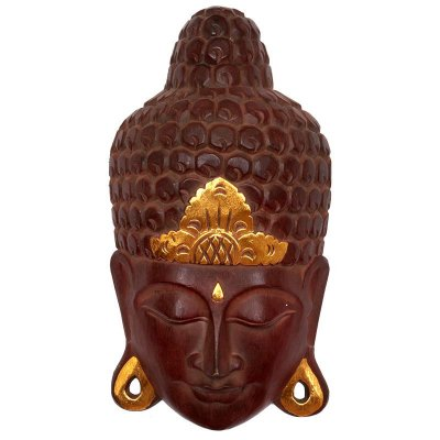 Cabeça de Buda Natural 50cm