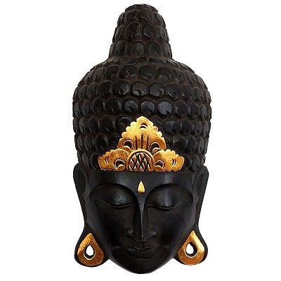 Cabeça de Buda Bali Black 50cm