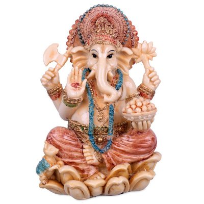 Ganesh Color Antik 17cm