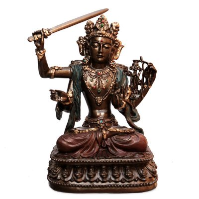 Estátua Manjushri - Bodhisattva Sabedoria
