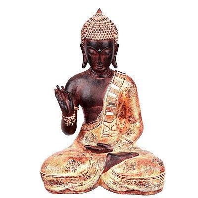 Estátua Buda Vitarka Mudra 40cm