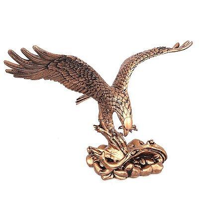 Estátua Águia Gold 25cm