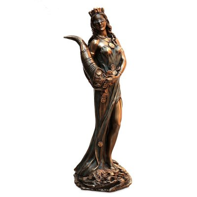 Estátua Deusa Fortuna 19cm