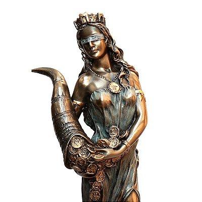 Estátua da Deusa Fortuna 29cm