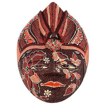 Máscara Batik Bali 22cm