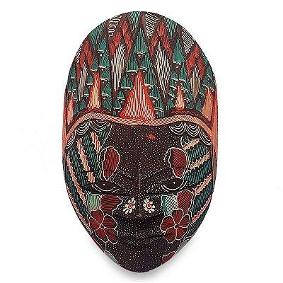 Máscara Batik Reta 22cm