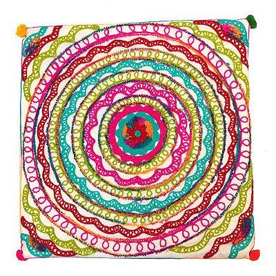 Almofada Mandala Colorida