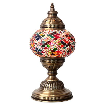 Abajur Turco Mosaico Color 28cm