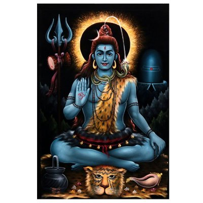 Pintura em Tela Shiva - Bali