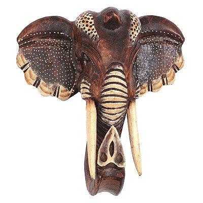 Cabeça de Elefante Natural - Bali