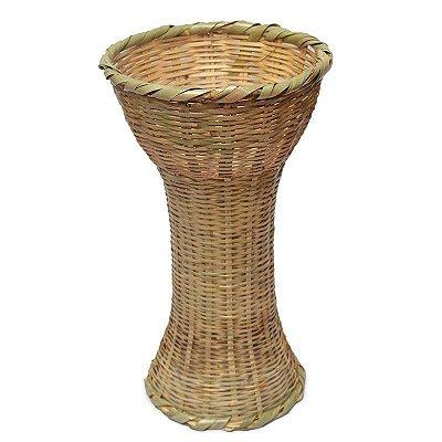 Vaso de Bambu Claro 58cm
