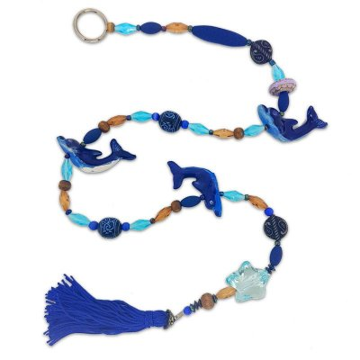 Móbile Baleia Azul Tibetano
