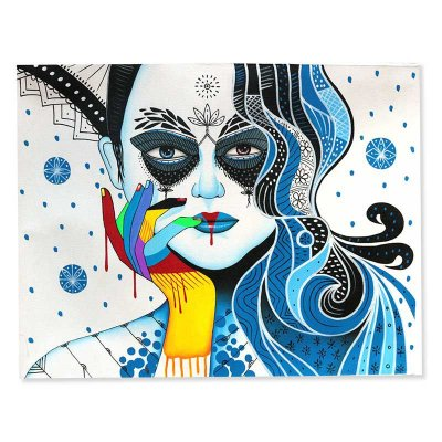 Pintura em Tela Mulher 90x70cm