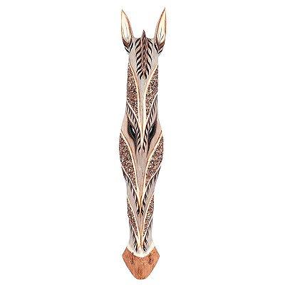 Máscara Zebra Jateada 100cm