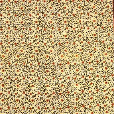 Colcha Indiana p/ Cama de Casal Floral