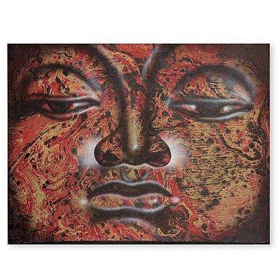 Pintura em Tela Decorativa Buda 40x30cm