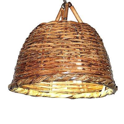 Pendente de Bambu Rústico - P/M/G