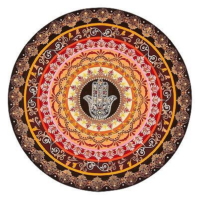 Mandala Colorida Hamsá 80cm