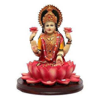 Escultura Deusa Parvati da Flor de Lótus