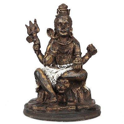 Escultura Shiva em Resina - Bali