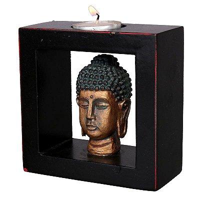 Porta-Vela Cabeça de Buda | China