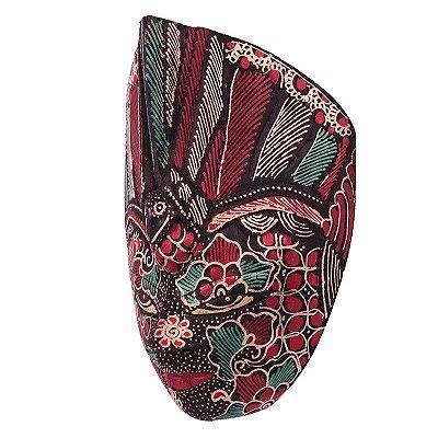 Máscara Batik Decorativa - Bali