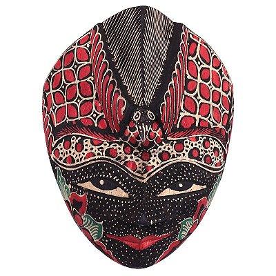 Máscara Batik Tatuada - Bali