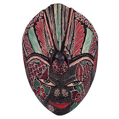 Máscara Batik Tatuada 22cm - Purple