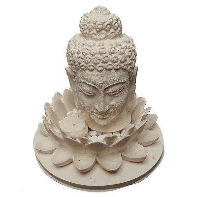 Incensário Cabeça Buda Lótus - Bali