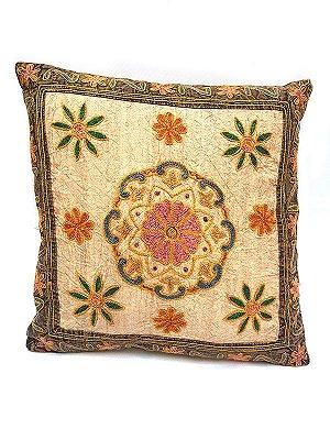 Capa de Almofada Indiana Floral