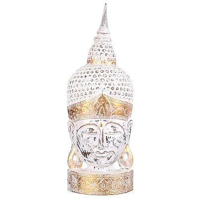 Cabeça de Buda Pátina 70cm - Bali