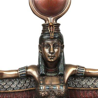 Escultura Egípcia Ísis ''Deusa do Amor'' - Arte em Resina