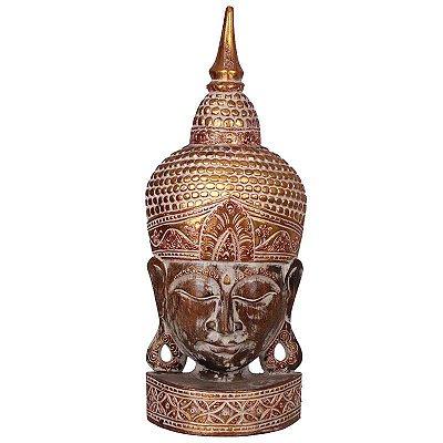 Cabeça de Buda Dourado 75cm - Bali
