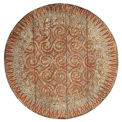 Mandala Antik em Madeira 100cm | Timor